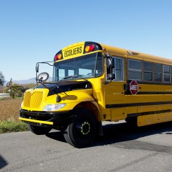 Modified school bus